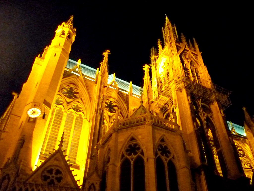 La cathédrale de Metz illuminée © French Moments