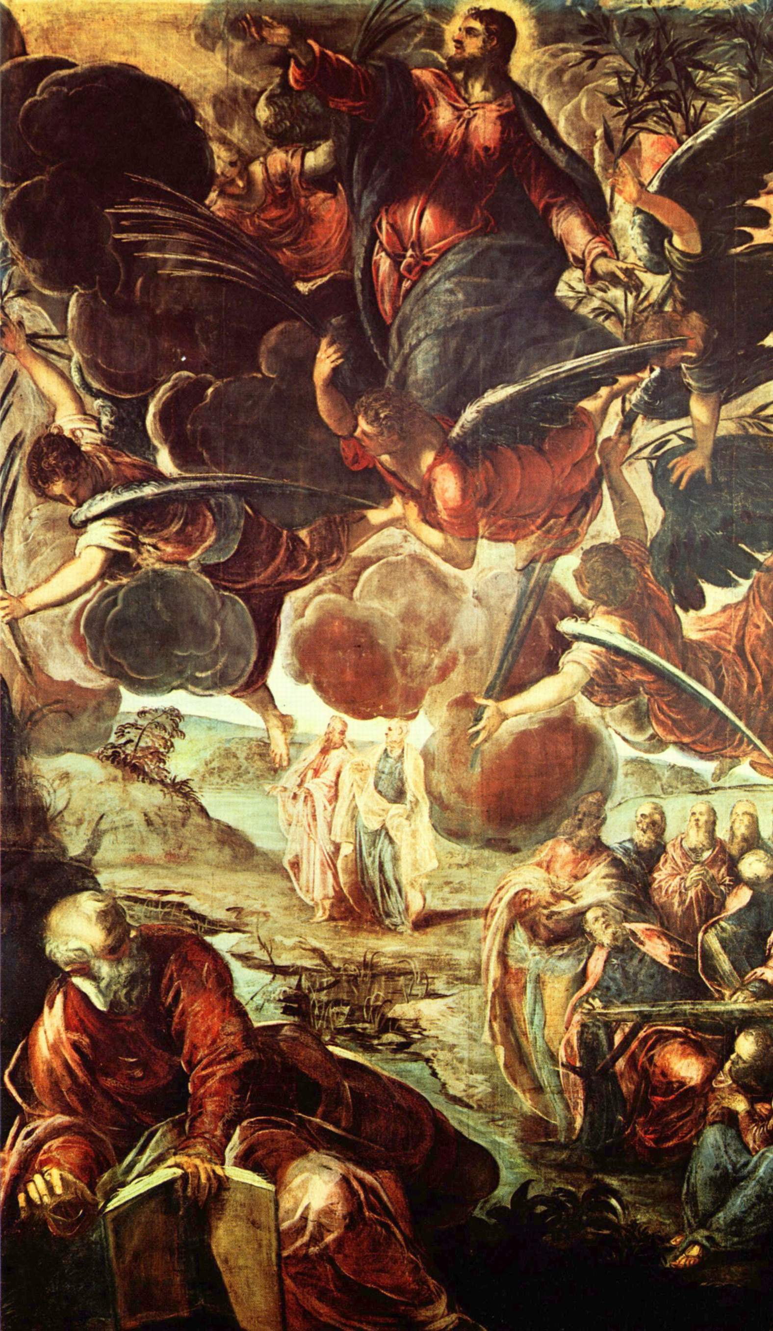 L'Ascension par Jacopo Tintoretto XVIe siècle