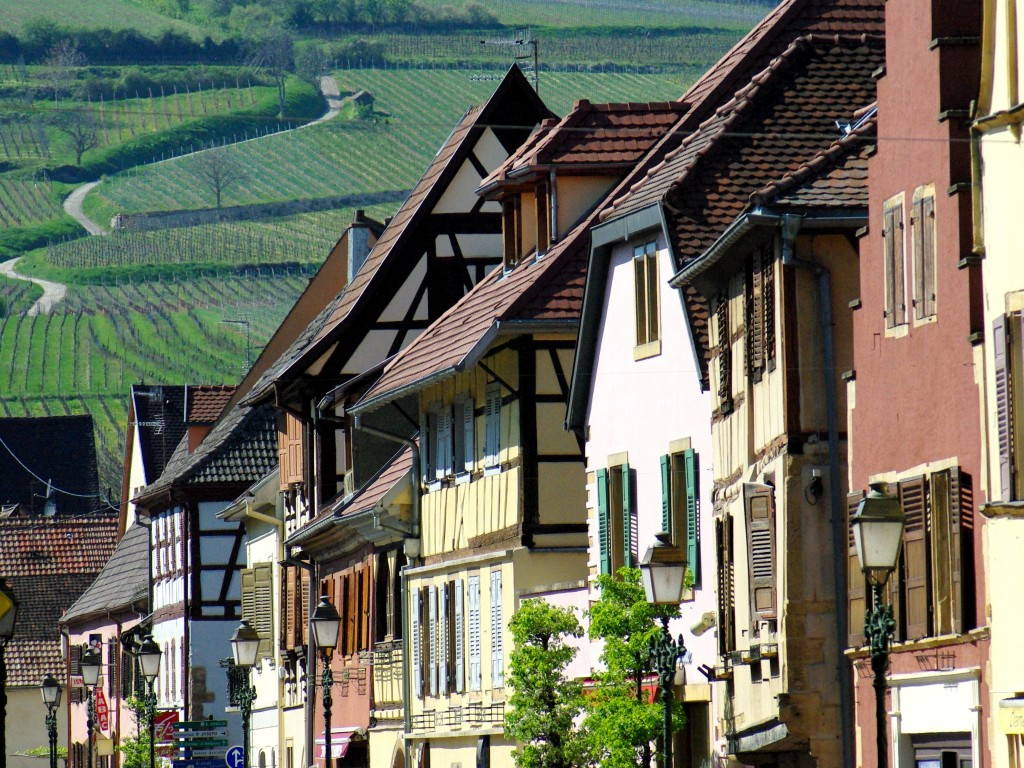 Façades de Rouffach © French Moments