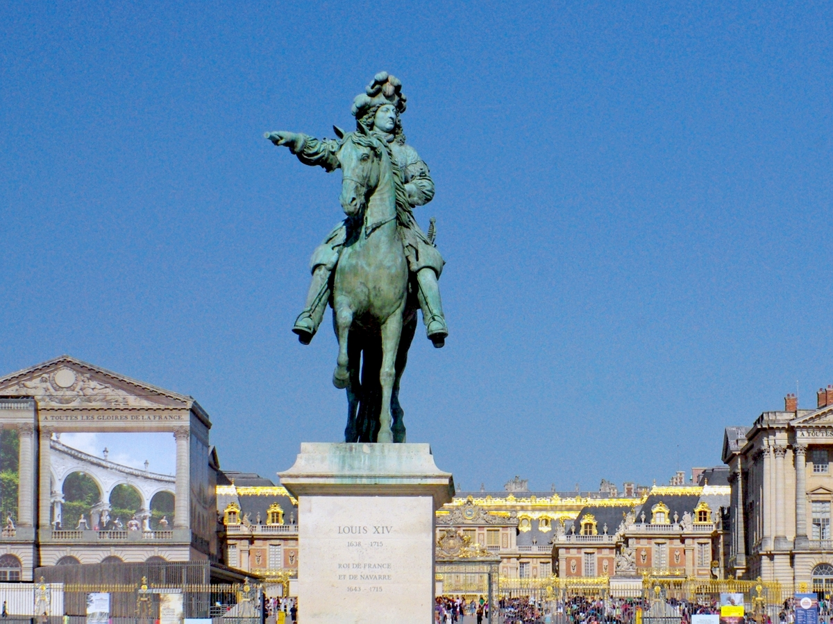 louis xiv and versailles Louis xiv king of france and navarre in power may 14, 1643 - sept 1, 1715 born sept 5, 1638 château de saint-germain-en-laye, saint-germain-en-laye, france died sept 1, 1715 (at age 76) palace of versailles, versailles, france nationality french religion catholicism louis xiv rose to power when he was only five years old.