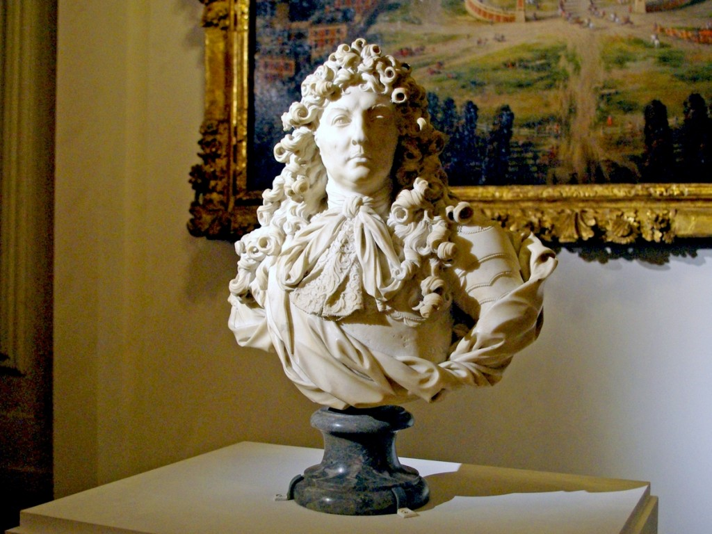 Buste de Louis XIV dans le Grand Trianon à Versailles © French Moments