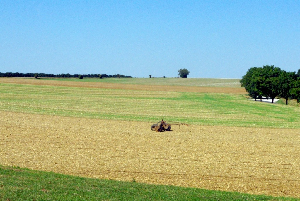 The rural landscape of the Brie near Provins © French Moments