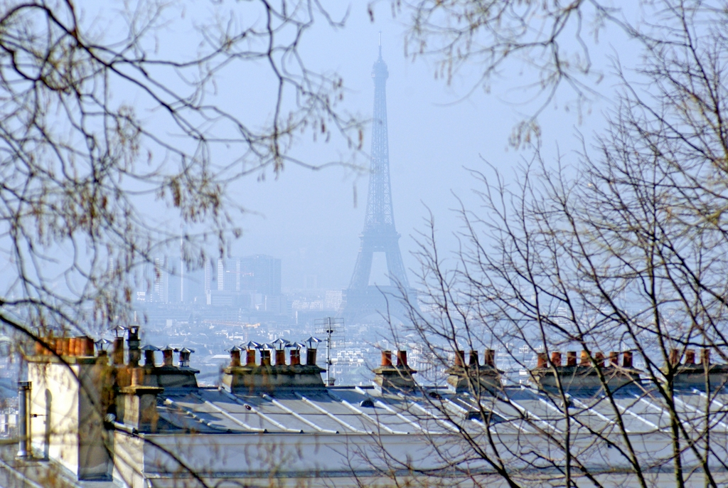 La Tour Eiffel vue de Montmartre © French Moments