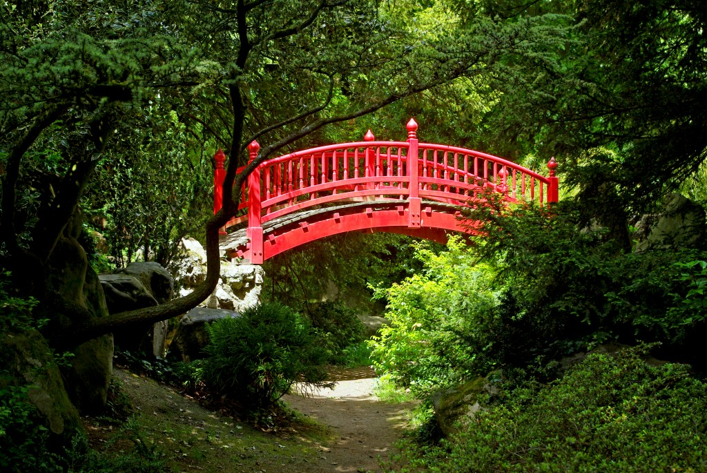Le pont japonais parc de Boulogne © French Moments