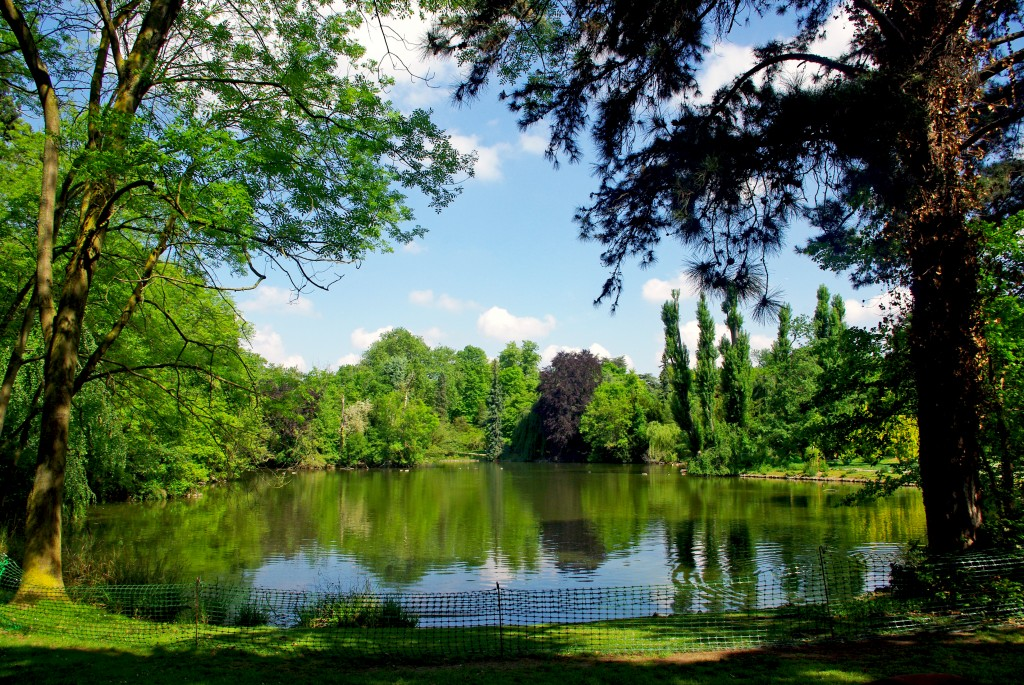 Le petit lac du Parc de Boulogne © French Moments
