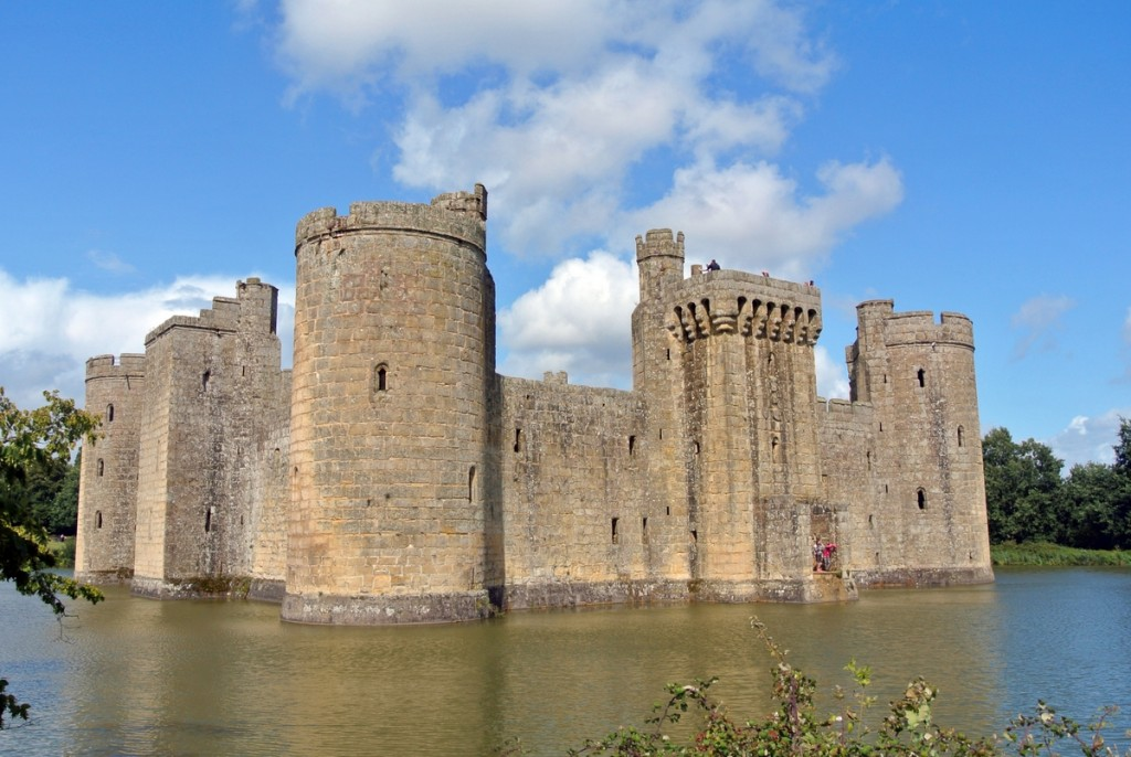 Le château de Bodiam © French Moments