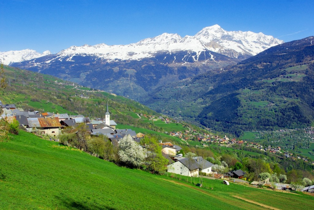 Le village de Granier en Tarentaise © French Moments