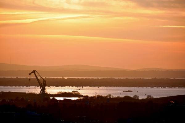 Coucher de soleil sur Portsmouth © French Moments