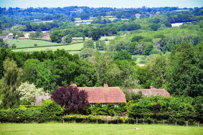 Vue en direction de Wadhurst (East Sussex) © French Moments